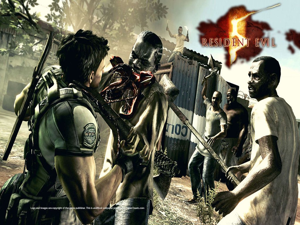Resident Evil 4 Game Wallpaper Resident Evil 4 Game Wallpa Flickr
