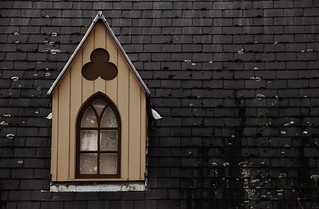 A gable dormer in North Terrace, Adelaide