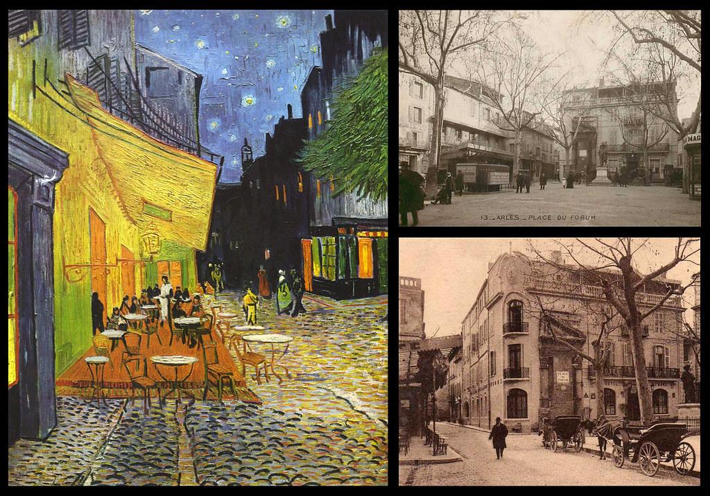 21 Van Gogh Terraza De Café Por La Noche Plaza Del Foru