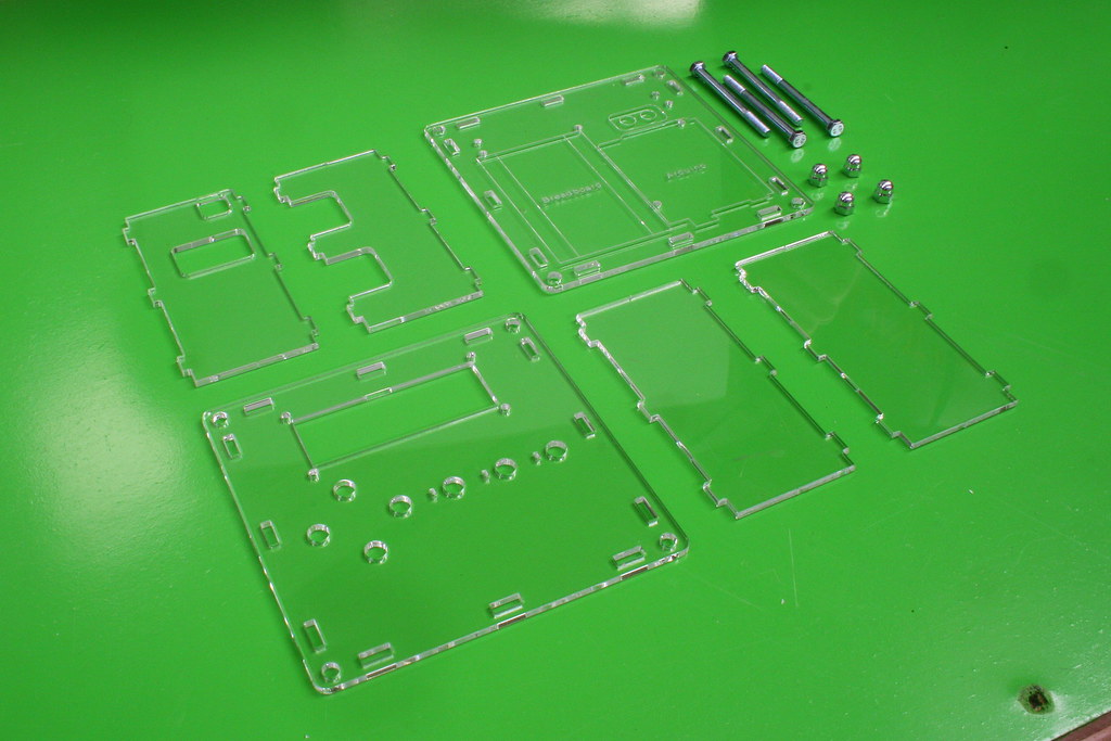ADBO - Project Box for Arduino (laser cut) | Tired of our pr… | Flickr