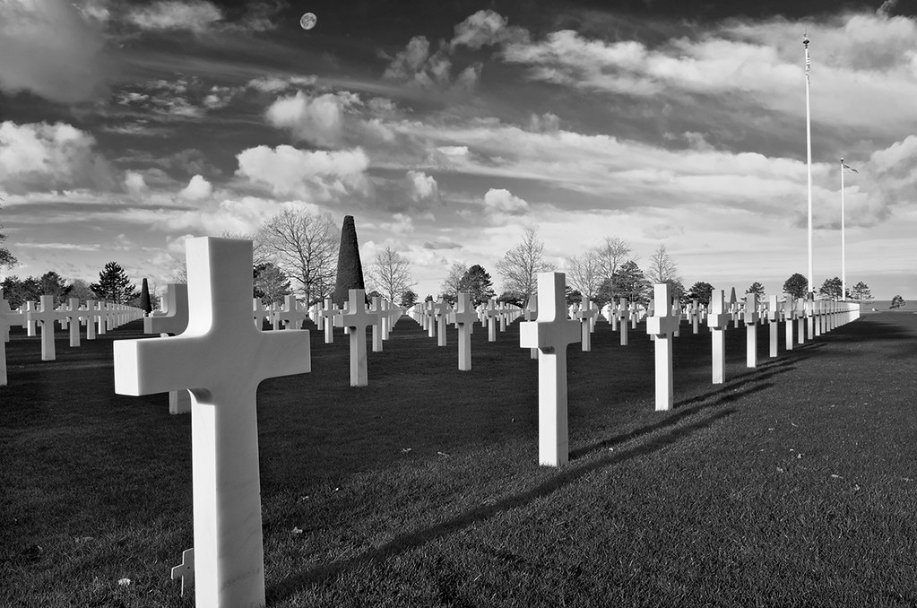 American National Cemetary, Normandy