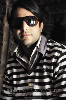 INDIA PEOPLE & PORTRAITS MODEL Dr ABHISHEK AWFJ   by SDB Fine Art Travel of 2 Decades to 555+ Places Ph