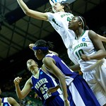 Latia Williams #23, Robin Jones #25, Brittney Griner #42, Dominique Smith #1, Destiny Williams #10