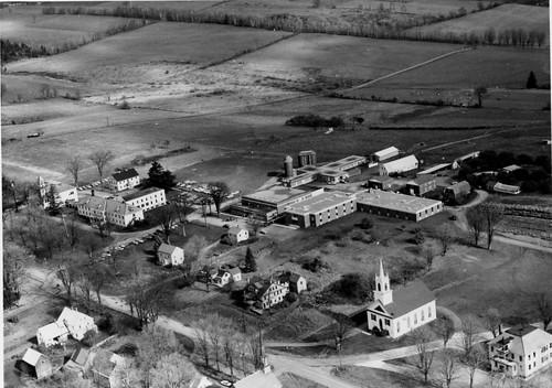 1964 vermonttechnicalcollege randolph vermonthistory hartnesslibrarycollection campus campusviews aerialshots