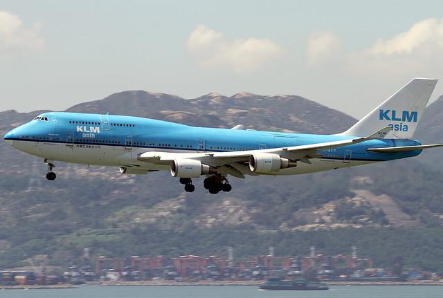 B747-406/M | KLM Asia | PH-BFP | HKG