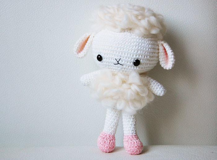 Amigurumi Cute Sheep Crochet Pattern » Amigurumi Crochet Patterns By  HavvaDesigns | 518x700