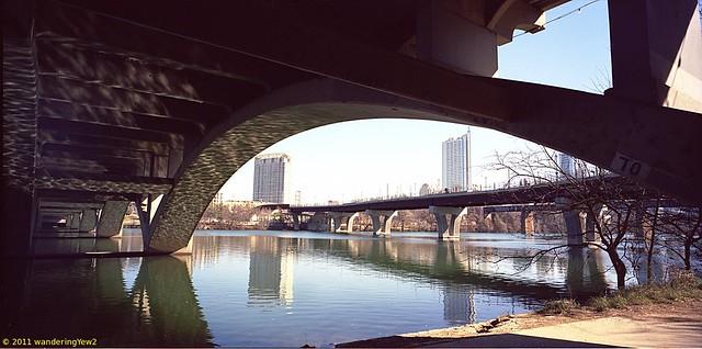 Austin TX -- Lady Bird Lake and Lamar Street Bridge #2