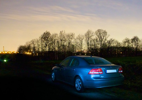 Saab 9-3 light painting | by mm3d