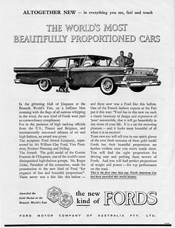 1959 Ford Custom 300 ad