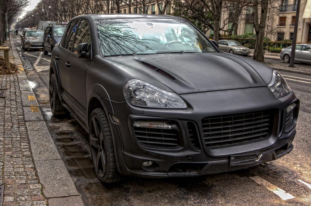 Hdr Black Matte Porsche Cayenne Hdr 6 Raw Pec Flickr