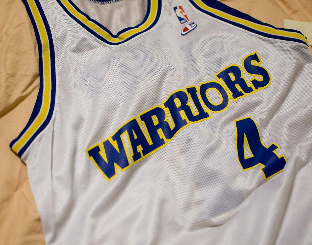 official photos 6faa7 792b7 Chris Webber Golden State Warriors Jersey | Chris Webber was ...
