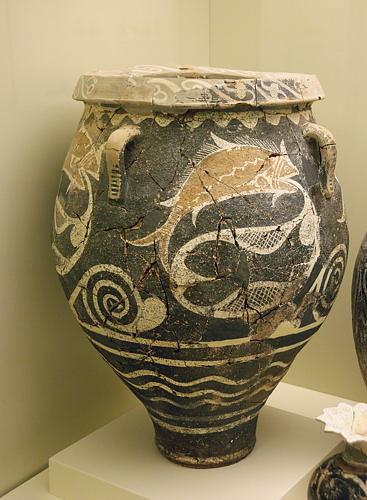 Kreta - Crete - Heraklion - Archaeologisches Muesum - minoisches Artefakt