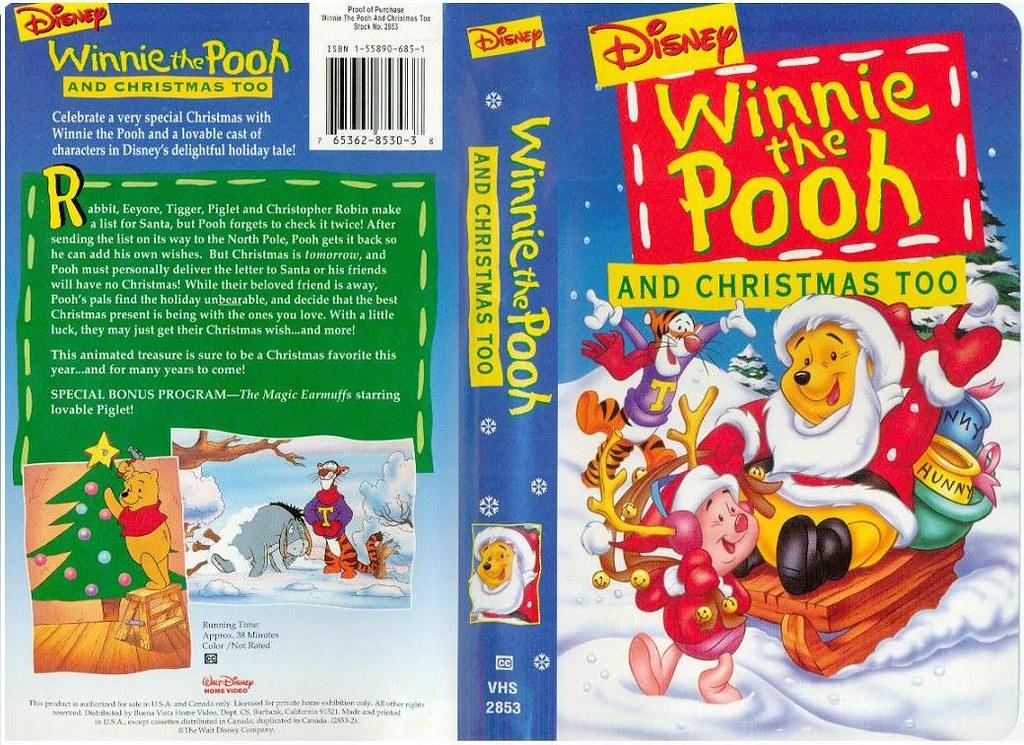 Winnie The Pooh And Christmas Too.Winnie The Pooh And Christmas Too Usa Klaus Eike