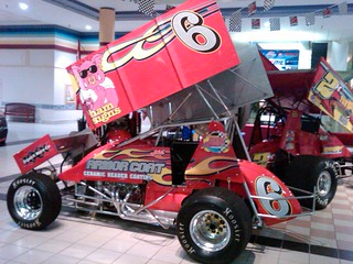 Jamie Miller owned #6 car that Jac will drive this spring | by Haudenschild Racing