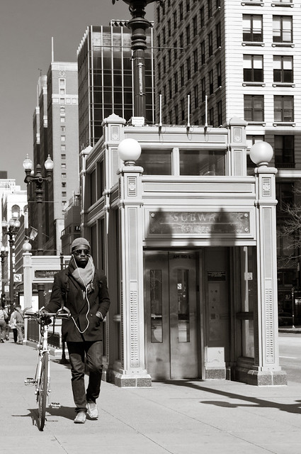 From the Vivian Maier-Inspired Photoshoot