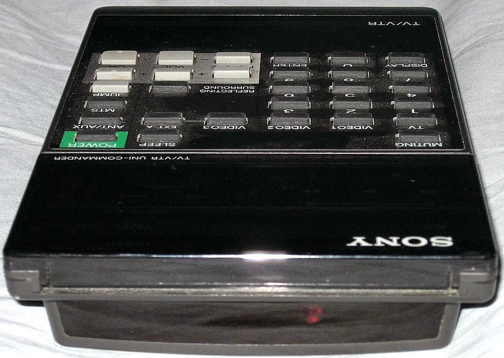 1980's Sony Trinitron TV Remote Control (2) | David