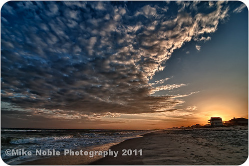 sunset sunrise nikon florida d200 hdr stgeorgeisland tokina1116mmf28 mikenoblephotography