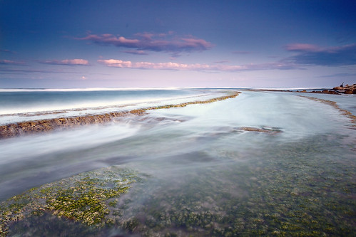 Slow movement of the sea   by Dan. D.