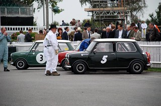 Austin Mini Cooper S 1961 (no. 3) and Austin Mini Cooper S 1965 (no 5) - St. Mary's Trophy