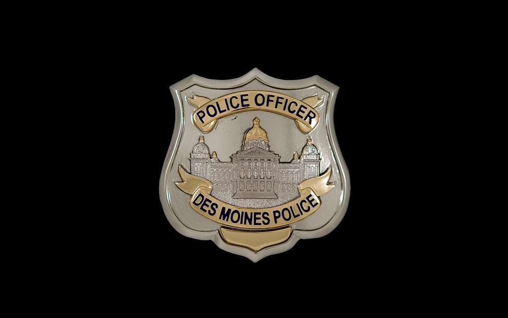 Des Moines Police Department Badges | One of my projects for
