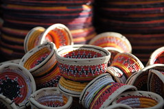 Colourful baskets from Yemen