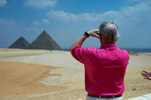 pyramid watching