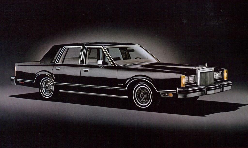 1980 Lincoln Continental Town Car 4 Door Sedan Coconv Flickr