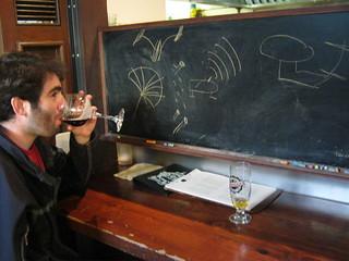 Josh draws the Kobayashi Maru test in Pictionary | by jeferonix