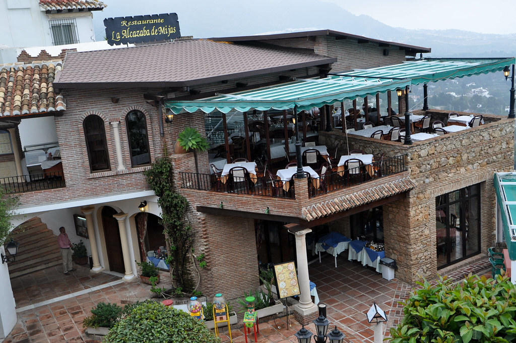 Restaurante La Alcazaba Mijas Vista Exterior Pablo