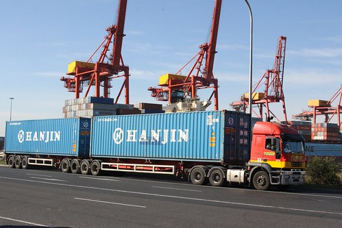 'High Productivity Freight Vehicle' at the Port of Melbourne