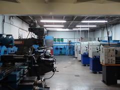 Foto del interior de uno de los talleres de mecánica industrial del PCPI.