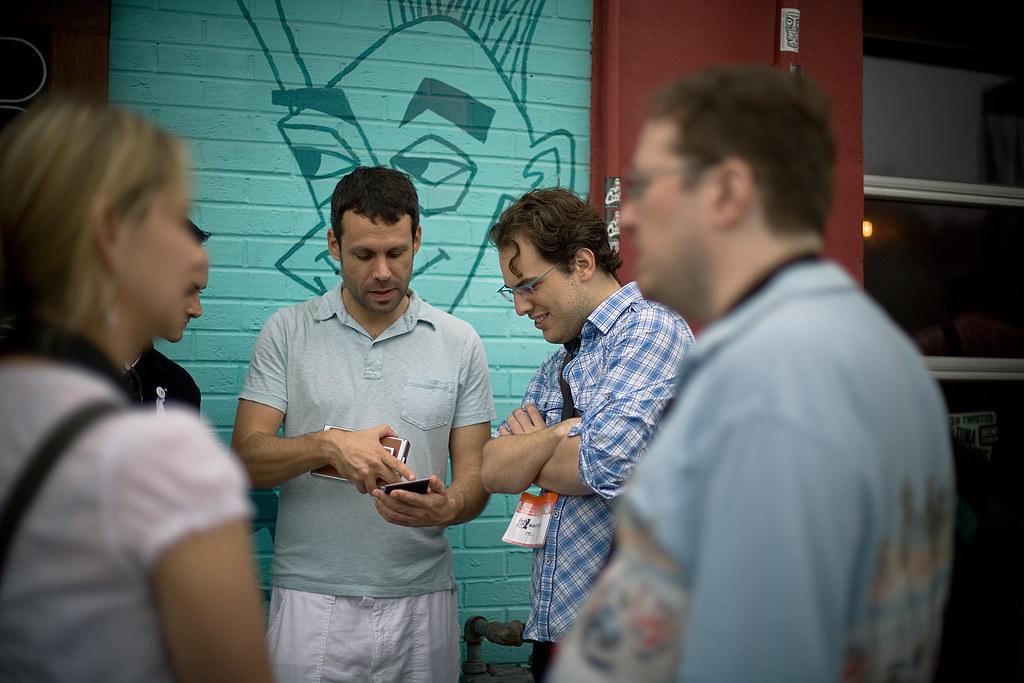 Dan Rubin (@danrubin) and Mike Krieger (@mikeyk) | The infam