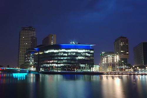 Media City, Salford Quays, Manchester, England, Europe