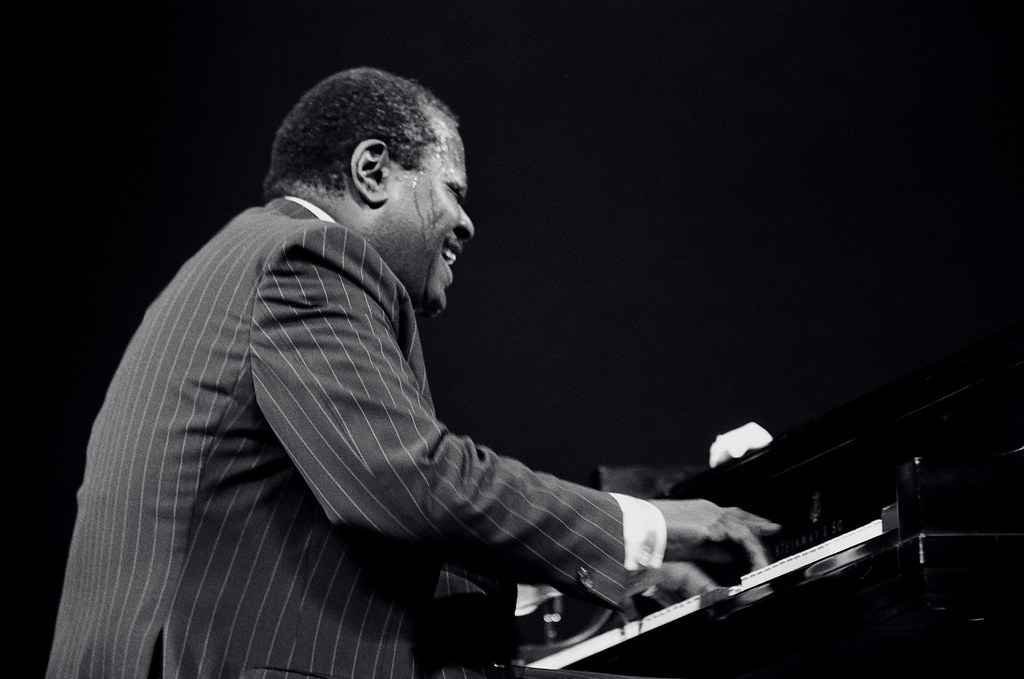 Oscar Peterson at the Piano | Eastman Theatre, Rochester, N.… | Flickr
