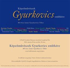 2011. március 21. 13:32 - Gyurkovics Tibor kamarakiállítás