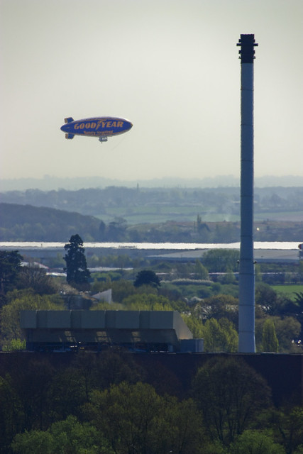 Goodyear Airship at Coventry Airport