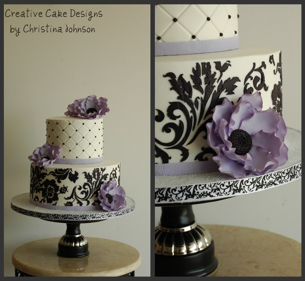 Wedding Vow Renewal Buttercream Cake