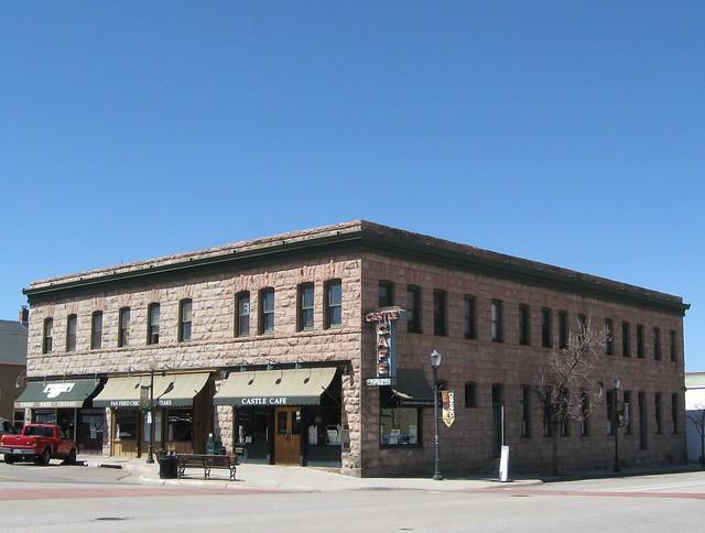 Castle Cafe/Bar was the Keystone Hotel, c 1901.