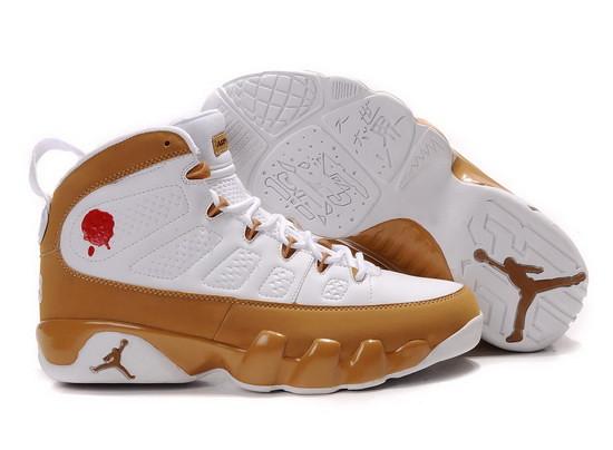 "new arrival 4fee4 21ea2 ... Nike Air Jordan 9 Retro Premio ""Bin 23″ – White Metallic Gold   by"