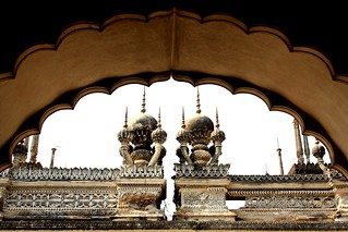 Stucco work at Paigah Tombs | by Sonali Mangal