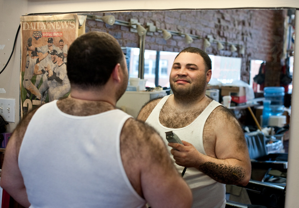 Barber of Barber's: Sunset Park Brooklyn | Ismail was shavin
