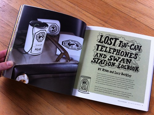 LOST Tin-Can Telephones and Swan Station Logbook by Ryan and Lucy Berkley | by susanstars