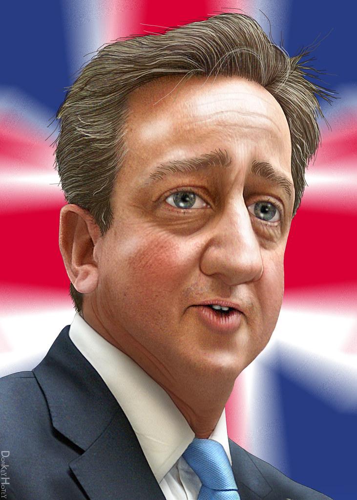 Resultado de imagen para Caricatura de David Cameron