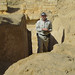 Na vykopávkách v Abúsíru, foto: Luděk Wellner