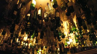bottle ceiling, Queen's Arms 01 | by byronv2