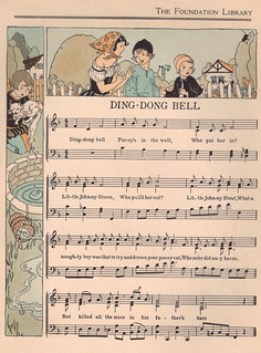 "Ding-Dong Bell music - ""The Child's Treasury"" edited by ..."