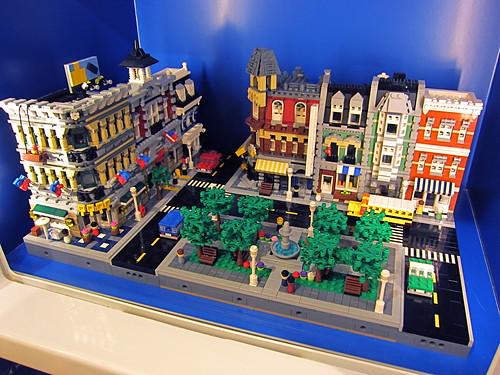 Tysons Corner LEGO Store display