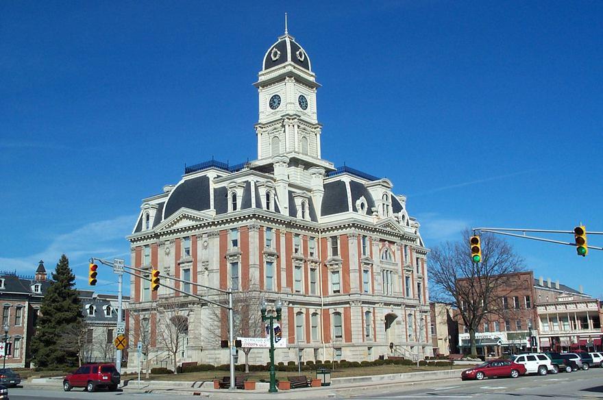 Hamilton County Courthouse building-old | Meghann | Flickr