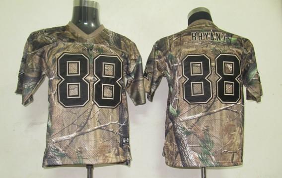 sports shoes 1e1b0 9c035 Reebok NFL Jerseys Dallas cowboys 88 Bryant Camo [Kids] | Flickr