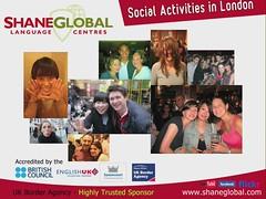 LONDON Shane Global Language Centres - Social Activities by Shane Global Language Centres